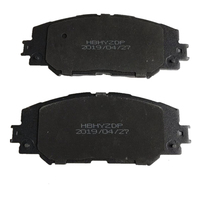 4 pcs Ceramic Car front Disc Brake Pad Set Fits for Toyota Corolla \/ Levin brake pad spreader Car Accessories