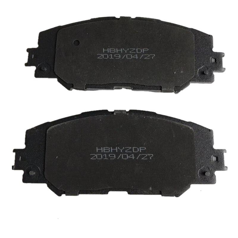 4 pièces En Céramique Voiture avant de Frein À Disque Convient pour Toyota Corolla/Levin frein plaquette de Voiture Accessoires