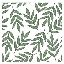 AZSG Neat Willow Leaves Clear Stamps For DIY Scrapbooking/Card Making/Album Decorative Silicone Stamp Crafts