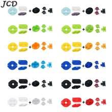 Jcd 1Set Rubber Geleidende D-Pad Knoppen Voor Gameboy Classic Voor Gb Dmg Een B Knoppen Diiy Knop set Vervanging