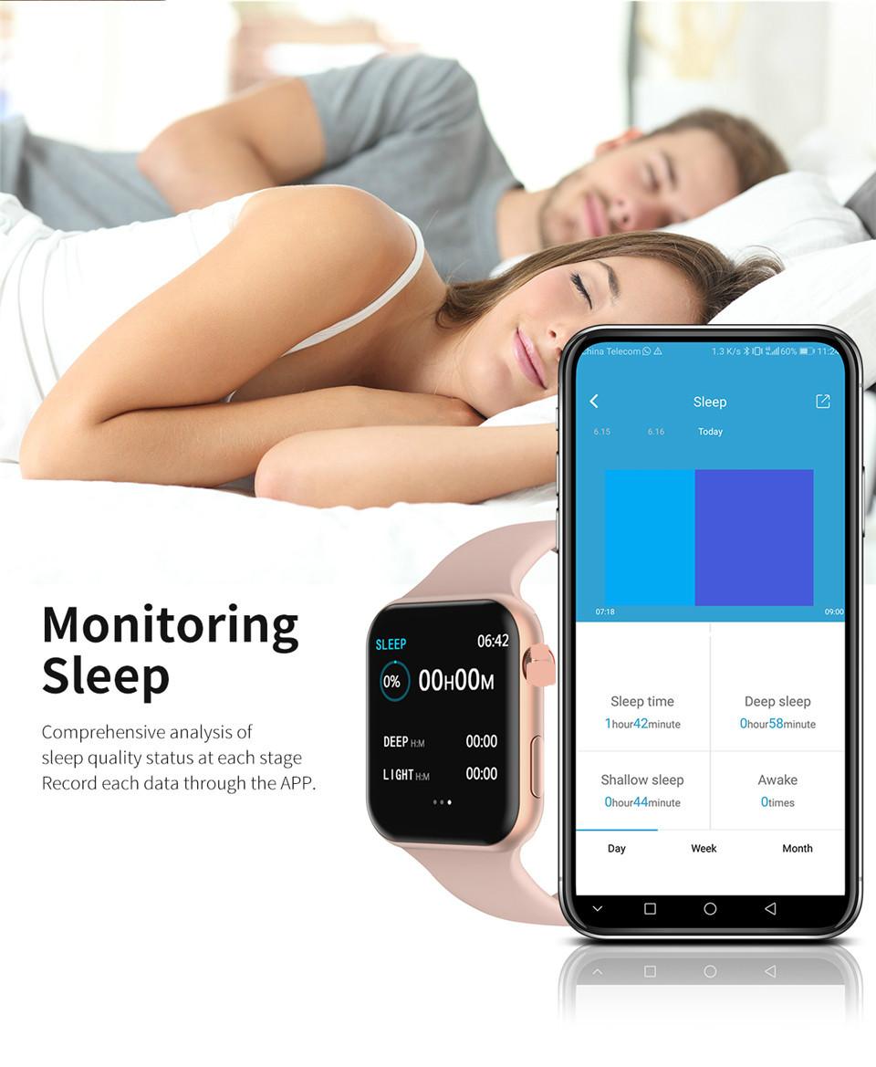 F10 Fitness Tracker ECG pulsera smartwatch 7