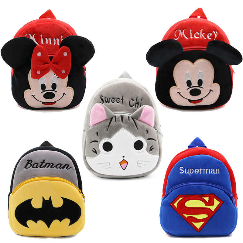 Cartoon Children Backpack Stuffed Animal Baby Backpacks Gril Plush School Bag Gift for Kids Bags Mochila Escolar High Quality