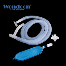 Wondcon Одноразовая Медицинская Коаксиальная дыхательная цепь 2,0 м 2,4 м вентилятор Анестезия дыхательная цепь