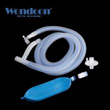Wondcon jednorazowy medyczny koncentryczny układ oddechowy 2 0m 2 4m respirator anestezjologiczny układ oddechowy tanie tanio Dog Cat