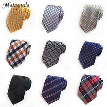 Новый 8 см шелковый галстук для мужчин жаккардовые цветочные Pasiley бизнес свадьба галстук галстук подарок аксессуары