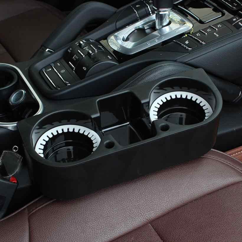 Soportes para bebidas soporte de 2 tazas asiento de bebida cuña coche Auto camión montaje Universal accesorios prácticos para coche 90723
