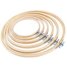 8 サイズ 8 26 センチメートル竹フレーム刺繍フープリングdiy針仕事クロスステッチ機械ラウンドループハンド家庭用縫製ツール