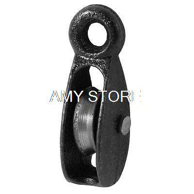 Metal Lifting Tackle 25Kg 0.025T Swivel Hook Single Groove Pulley
