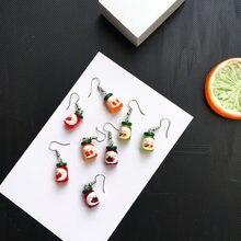 Incomum garrafa de bebida de geléia engraçado pequenos brincos para as mulheres moda legal harajuku kawaii fantasia brincos mini doce elegante jóias