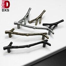 Hardware Furniture-Handle Pulls Knobs-Door Drawer Bronze Silver Black 128mm 96mm Dxs-Tree-Branch