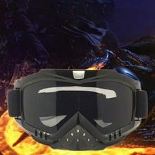 Practical Impact Resistant Anti-fog Windproof Breathable Cycling Glasses Outdoor Motorcycle Riding Protective Sport Eyewear