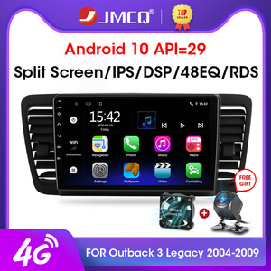 JMCQ 2Din 2+32 Android 10 4G+WiFi Car Radio Multimedia Video Player For Subaru Outback 3 Legacy 4 2004-2009 Navigation GPS 2 din