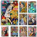 Graffiti Wall Art Street colorful graffiti Canvas Paintings on The Wall Art Street Posters and Prints for Home Cuadros Decor