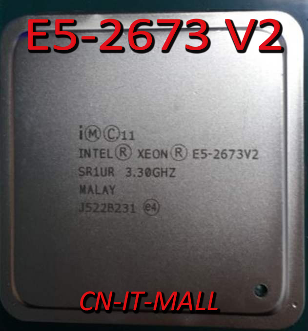 Intel Xeon E5-2673 V2 CPU 3.3GHz 25M 8 Core 16 Threads LGA2011 Processor