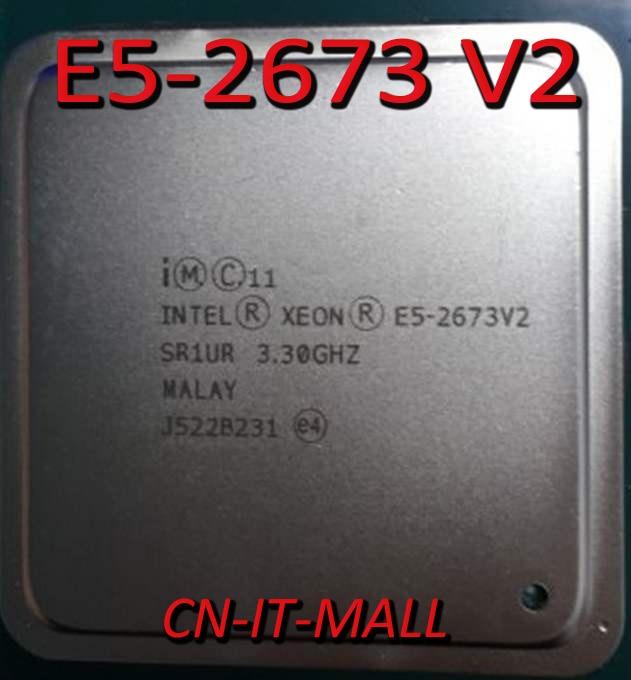 Intel Xeon E5-2673 V2 CPU 3.3GHz 25M 8 Core 16 Threads LGA2011 Processor