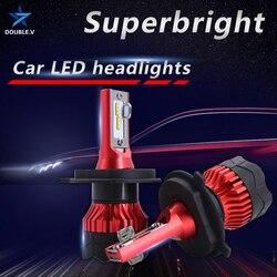 H4 H7 Led reflektor H1 H11 H3 H8 żarówka samochodowa Hb4 Hb3 H27 Canbus Led lampy 12V 9005 9006 9012 H1R2 lampy przeciwmgielne 3000K 4300K 6000K 8000K