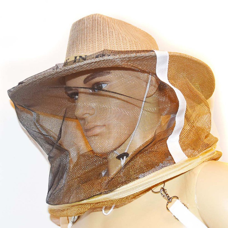 High Quality Anti Bee Hat Protective Net Beekeeping Protective Supplies Durable Protection Beekeeper Cowboy Beekeeping Equipment