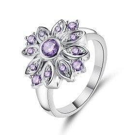 Горячая Распродажа, дизайн, роскошное большое овальное CZ кольцо золотого цвета, обручальное кольцо, хорошее ювелирное изделие для женщин, ювелирных изделий - Цвет основного камня: 8
