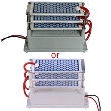 15 g/h ac 220v gerador de ozônio portátil integrado cerâmica ozonizador alta qualidade e novo