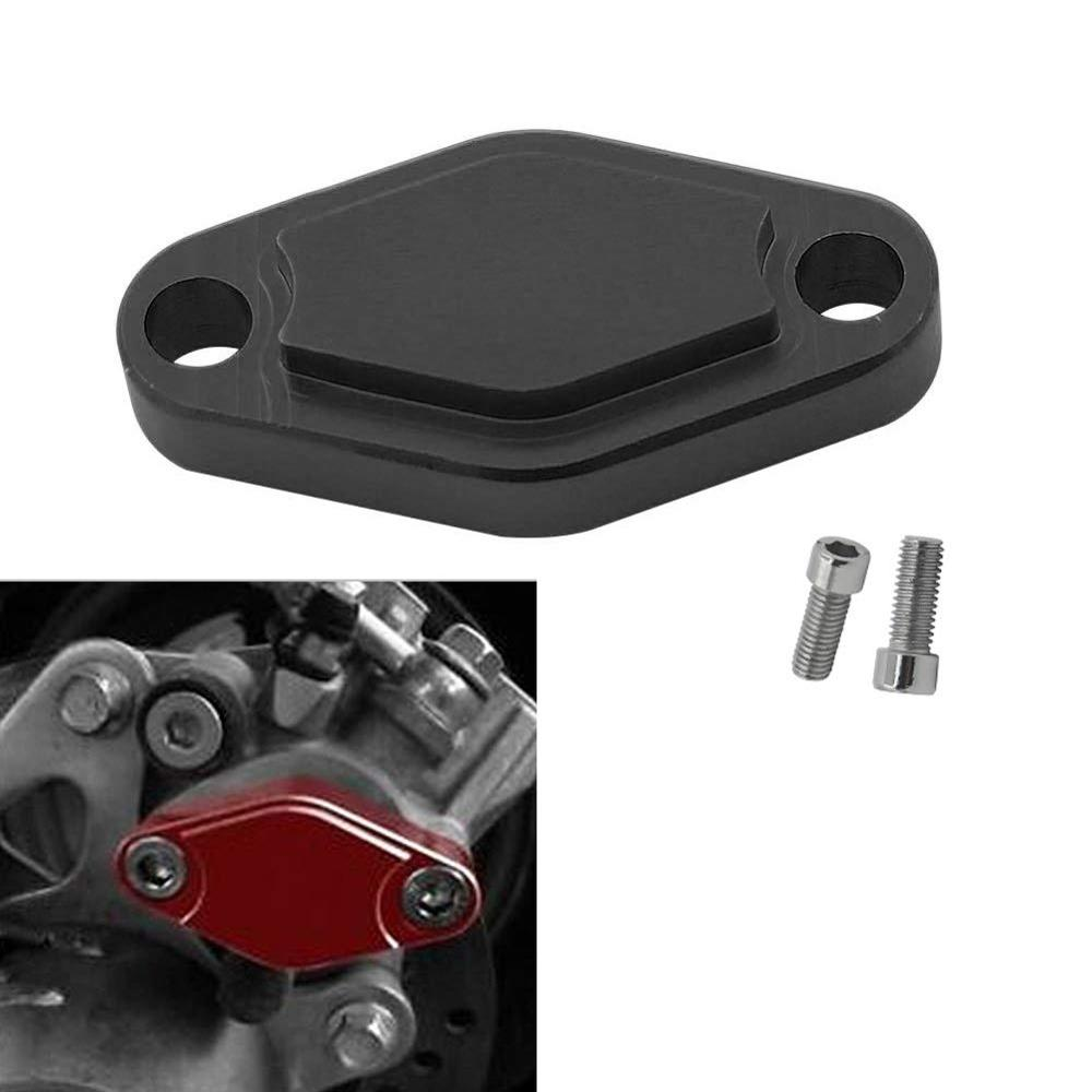 ATV Parking Brake Block Off Plate With O Ring For Suzuki LT50 LT500R LT80 LT-A50 LT-R450 LTZ250 LTZ400 LTZ50 LTZ90 LT-F160 2X4