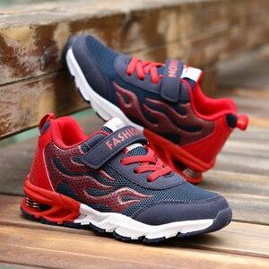 Image 5 - ילדי נעלי ריצה לבנים נעלי ספורט חיצוני מאמני אביב סתיו ילדי נעליים לנשימה רשת נעלי ספורט Tenis Infantil