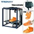 2019 новый модернизированный 3d принтер Tronxy X5SA PRO 24V большой размер печати промышленный производитель Guiderail FDm Автоматическая Выравнивающая 3D м...