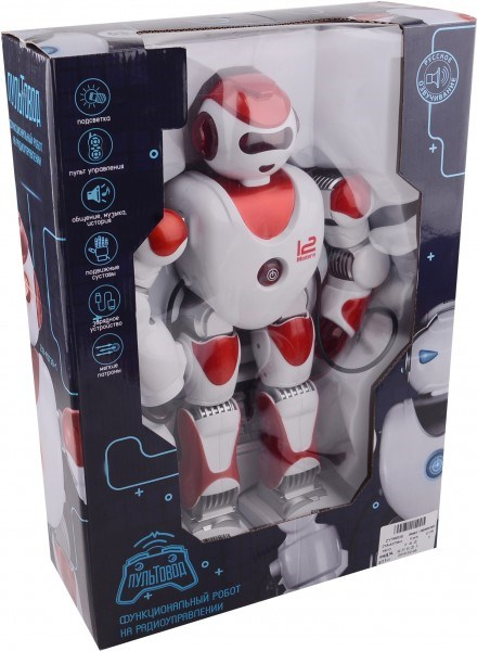RC Robot Zet Alpha Rocket Sucker Light, Sound-ZYA-A2739-2