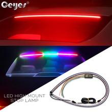 Ceyes 12 В Автомобильный светодиодный высокое крепление тормоза Стоп задний хвост, предупреждение лампы дополнительный стоп свет бег поворотные полосы авто аксессуары