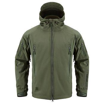 Winter TAD Tactical Softshell Camouflage Jacket Men Shark Skin Army Camo Windbreaker Waterproof Hunting Clothes Military Jackets 4