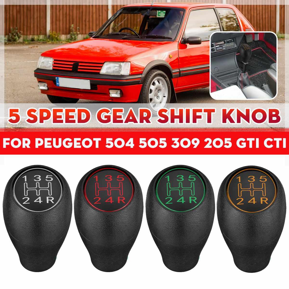 Для Peugeot 504 505 309 205 GTI CTI ручной Шестерни рукоятка рычага переключения передач 5 Скорость рычаг переключения передач Ручка палка Пластик автом...