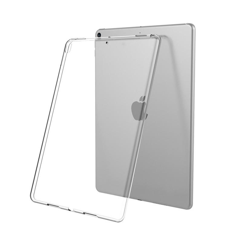 Clear Cover For IPad 10.2 2019 Case Transparent TPU Silicone Back Cover For IPad 9.7 2018 Air 2/1 Pro 10.5 11 Mini 2/3/4/5 Capa