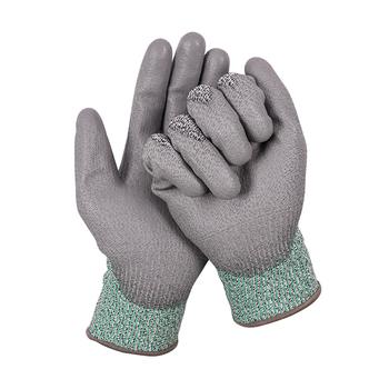 Rękawice Comfort Grip rękawice nitrylowe guma ochronna rękawice odporne na przecięcie rękawice robocze Stretch Fit wytrzymałe rękawice powlekane tanie i dobre opinie