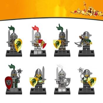 Medieval Rome Vintage Knights Series Building blocks Archer Knight of dragon Kingdom Heavy collection недорого