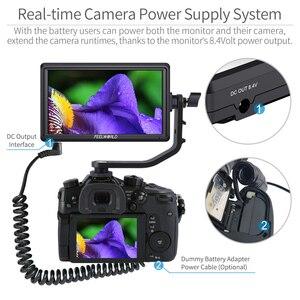 Image 3 - FEELWORLD S55 5.5 inch DSLR Camera Màn Hình 4K HDMI MÀN HÌNH LCD IPS HD 1280x720 Màn Hình Hiển Thị Trường Màn Hình 8.4V DC Đầu Ra cho Nikon Sony Canon