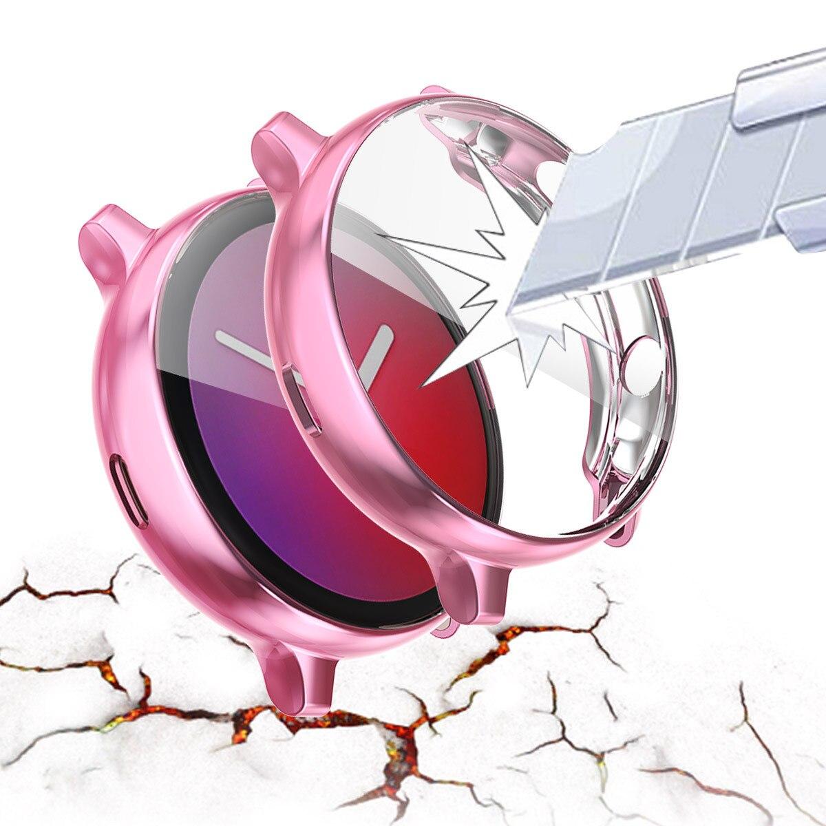 Купить чехол для samsung часы активное 2 40 мм 44 тпу полный экран