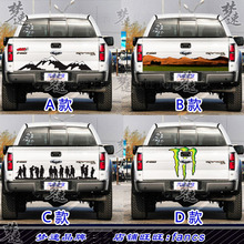 FOR Ford F-150 Cargo Door Car Sticker Pickup Tail D-MAX Navarre Rear