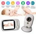 VB603 3.2inch Kleuren Lcd-scherm Automatische Nachtzicht Temperatuur Monitoring 2-Weg Audio Draadloze Baby Pet telefoon monitor