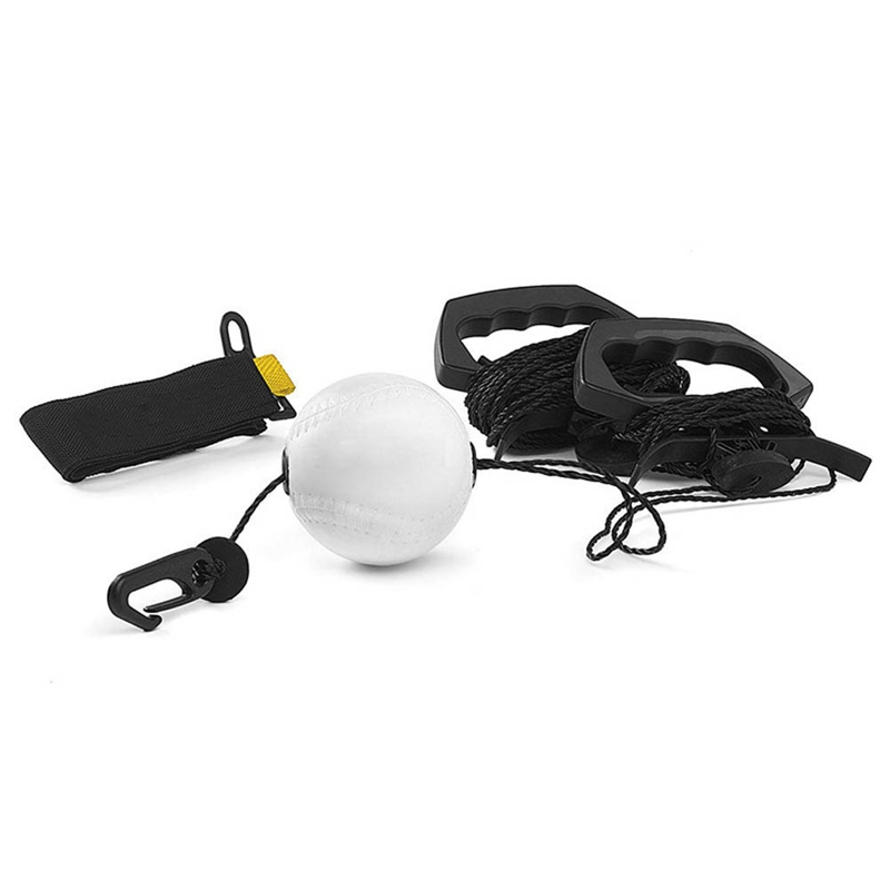 Portable Baseball Batting Trainer PU Swing Training Device Baseball Training Accessories Practice Tool