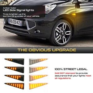 Image 2 - רכב צד מרקר הפעל אות מחוון LED דינמי אורות עבור רנו מגאן MK2 CC Espace MK4 סניק MK2 רוח Avantime תאליה 2