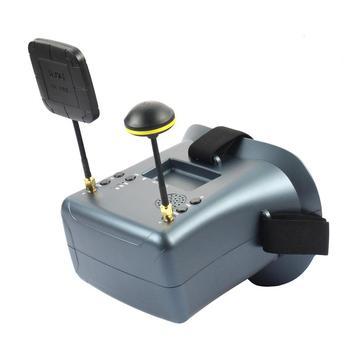 5 8G 40CH gogle FPV z monitorem DVR LS-008D 4 3 cala wbudowany akumulator 2000mw do śmigłowców wyścigowych samoloty moduł RC tanie i dobre opinie SKYRC LS-008D 4 3inch Lightweight 295g 155*144*113mm EACHINE