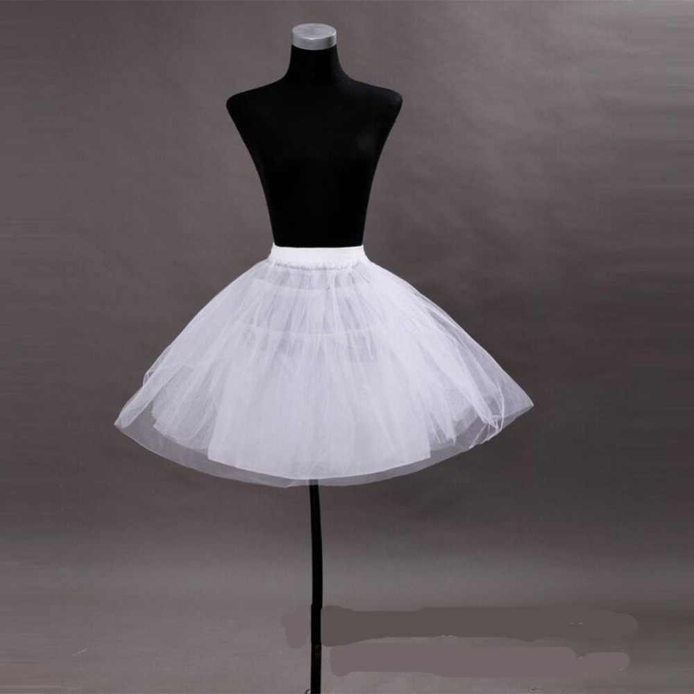 משלוח מהיר חתונה אביזרי ילדים בנות תחתונית Vestido לונגו שמלת קרינולינה תחתוניות חצאית במלאי