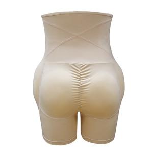 Image 5 - גבוהה מותן בטן בקרת תחתוני בטן ירך כרית משרד בקרת Shapewear גוף Shaper מתאמן באט בגד גוף שלל אט Enhancer
