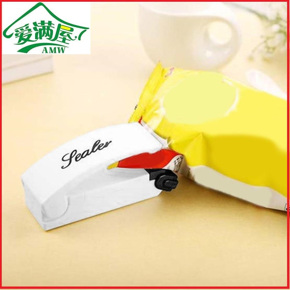 Mini Portable Electric Heating Tool Sealing Machine Heat Super Sealer Closer New