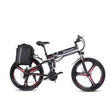 2021 yeni M80 yetişkin Off-road elektrikli bisiklet 26 inç Ebike350W 12.8AH lityum pil katlanabilir dağ elektrikli bisiklet erkekler