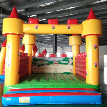 Mini Inflatable Bouncer Jumping Trampoline with Air Blower