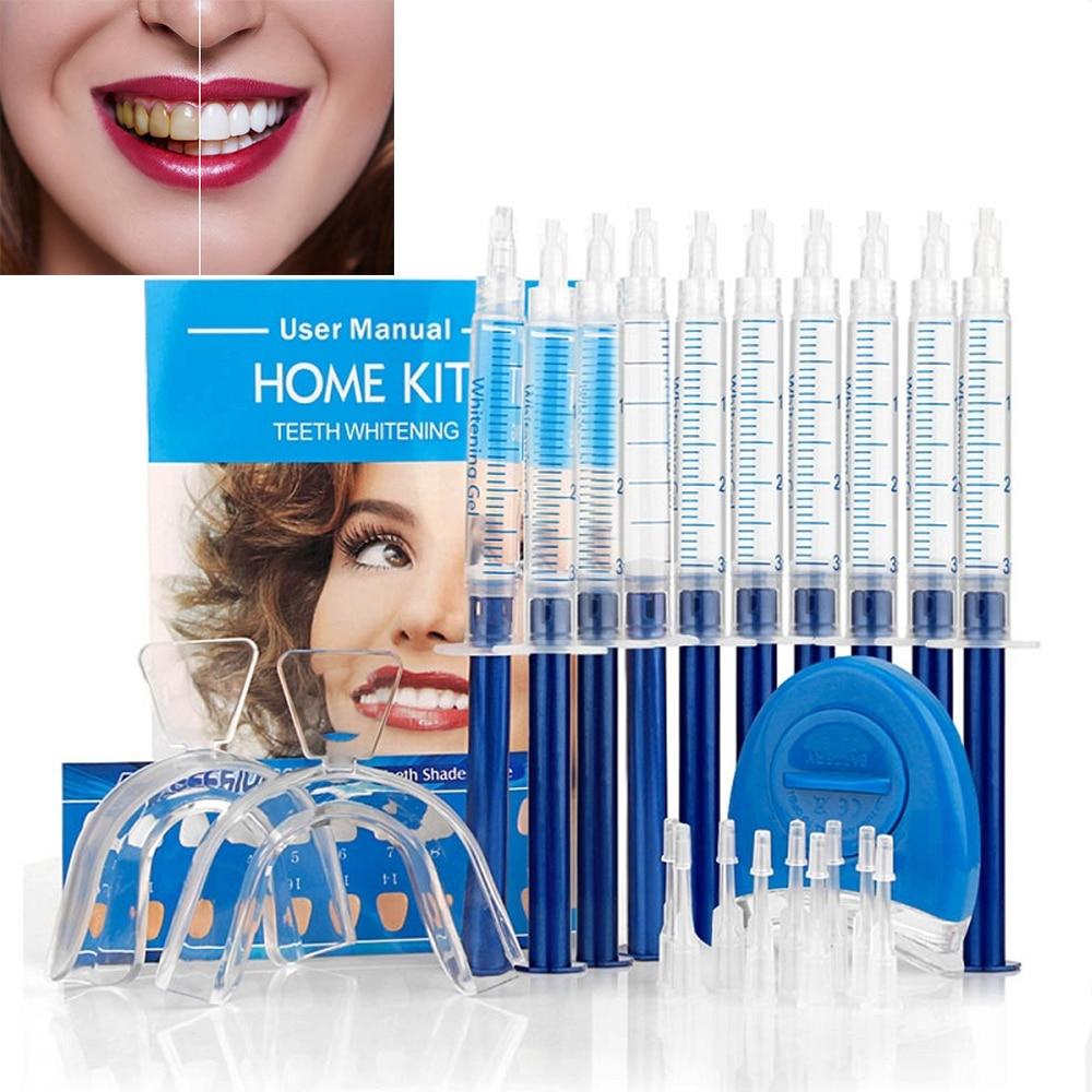 Teeth Whitening 44% Peroxide Dental Bleaching System Oral Gel Kit Tooth Whitener New Dental Equipment 10/6/4/3pcs