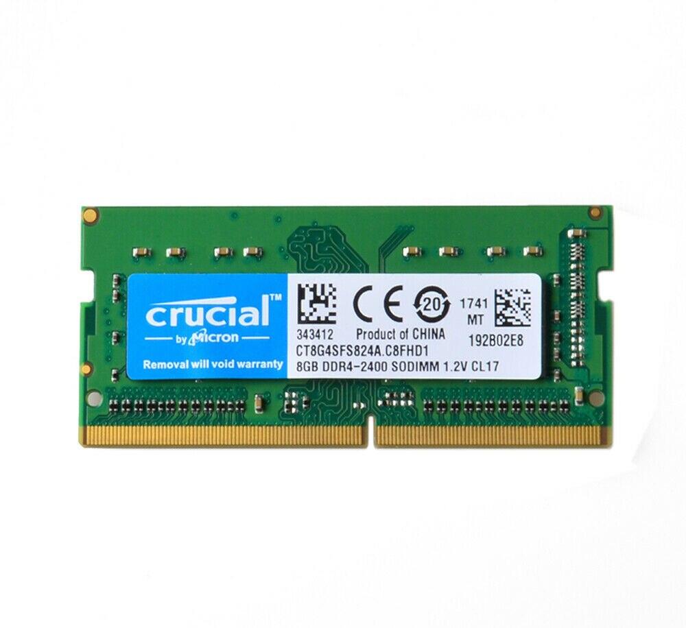 Crucial DDR4 Laptop Memory 4GB 8GB 16GB PC4-19200 ddr4 ram SODIMM 2400MHz 2666mhz 3200mhz RAM 1.2V 260PIN NON ECC 1
