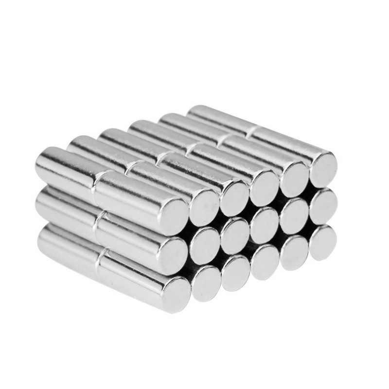 5/10/20 Buah 8X20 Mm Super Kuat Magnet Yang Kuat Magnet 8 Mm X 20 Mm tebal Permanen Magnet Neodymium 8X20 Mm Magnet Round 8*20 Mm