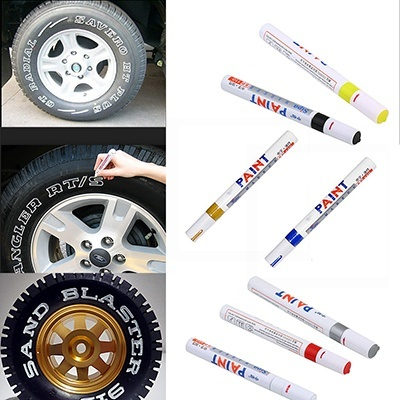 Hot Fashion Gadget Car Motorcycle Motor Cycle Tyre Tire Tread Marker Paint Pen   J99