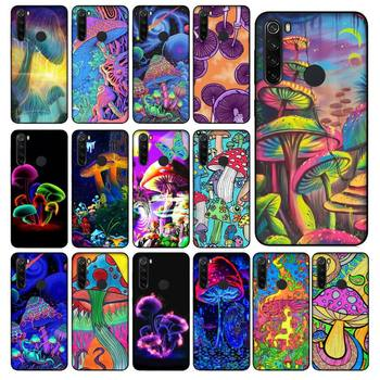 YNDFCNB Trippy Mushroom Phone Case for Xiaomi Redmi 5 5Plus 6 6A 4X 7 8 Note 5 5A 7 8 8Pro image